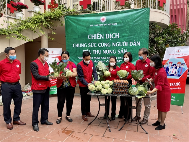 Red Cross launches campaign to support farmers in COVID-19-hit Hải Dương