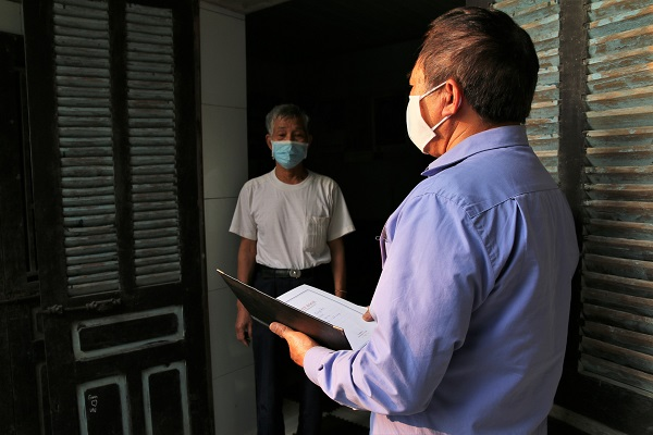Community-based COVID-19 prevention teams work hard during pandemic