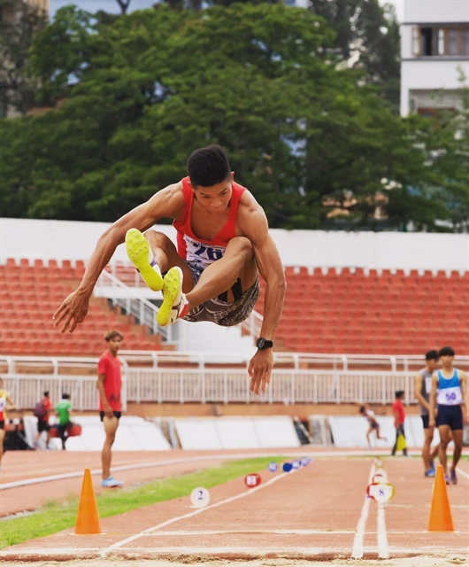 Long jumper Trọng aims to complete eight-metre promise