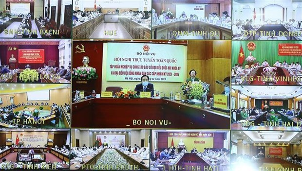 Training teleconference for NA election held amidst pandemic scenario
