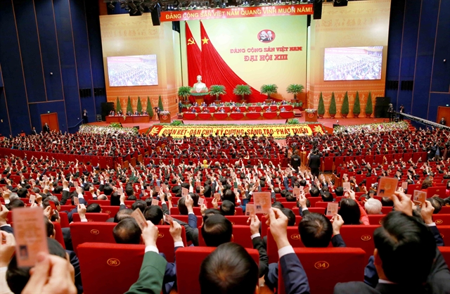 Việt Nam aims for GDP per capita of 5000 by 2025 developed country status by 2045: 13th Party Congresss Resolution