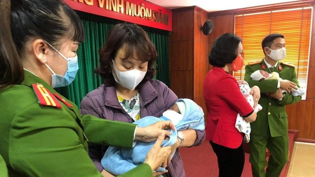 Three in Hà Nội arrested for role in cross-border baby selling ring
