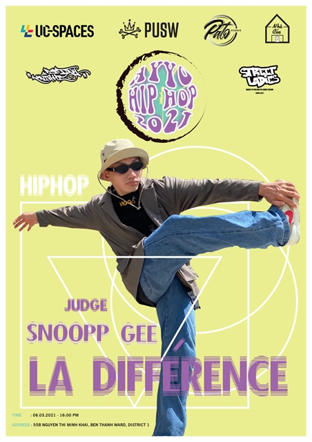 Hip hop competition in HCM City