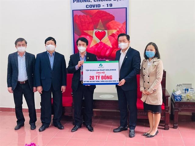 An Phát Holdings donated VNĐ20b to support Hải Dươngs pandemic fight
