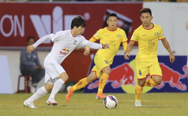 Hoàng Anh Gia Lai to face An Giang in National Cup opener