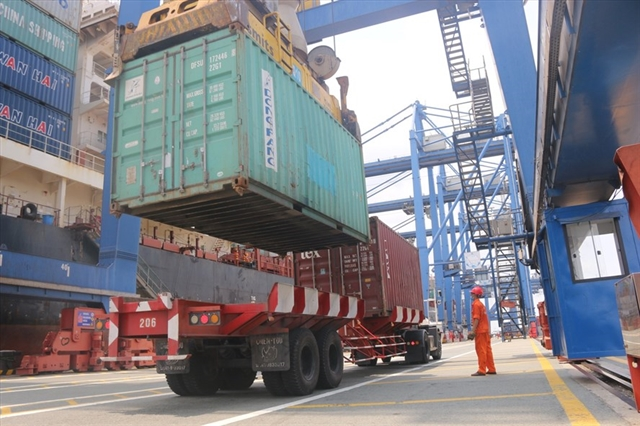 Export of farming products down due to container shortage