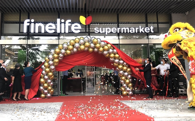 Finelife high-end supermarket opens in District 7 sells over 17000 organic imported items