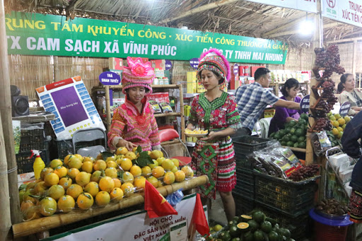 One Commune One Product attracts Tết shoppers