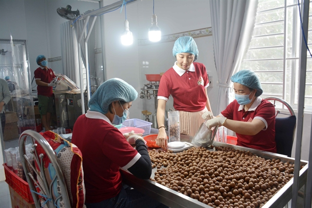 Young woman starts successful business with local agricultural products