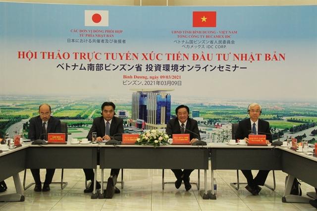 Bình Dương prepares best possible conditions for Japanese investors