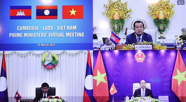 VN Laos Cambodia agree to boost border gate cooperation