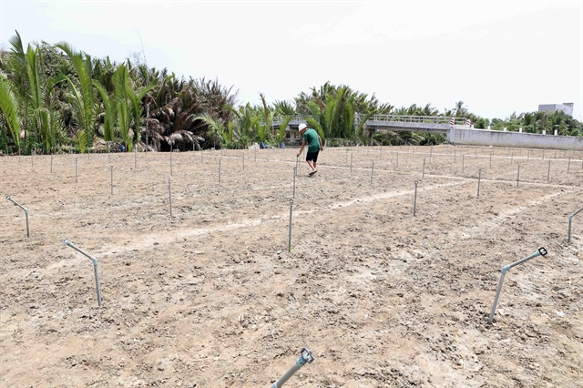 Support given to localities to fight drought water shortages saltwater intrusion