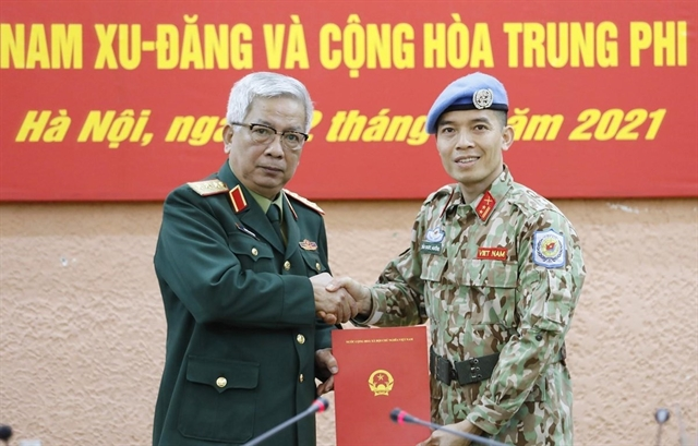 Second Vietnamese military officer to work at UN headquarter in New York