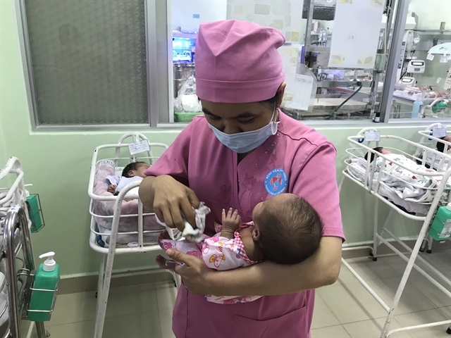 Hospitals neonatology dept recognised for its expert care of premature low birth-weight babies