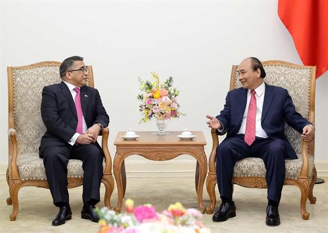 PM Nguyễn Xuân Phúc receives Philippine ambassador