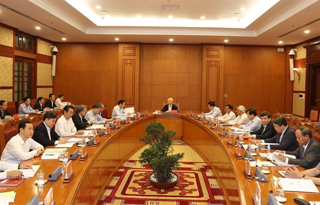 Party chief urges acceleration of anti-corruption work