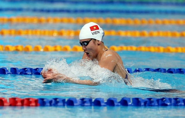 Swimmers compete at home hope to win Olympic berths