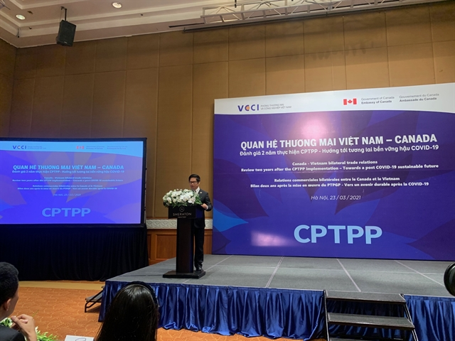 Trade ties between VN and Canada developdue to CPTPP
