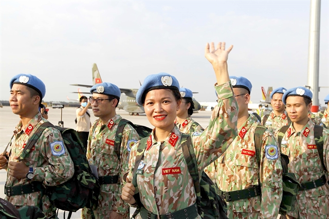 Vietnamese medics leave for peacekeeping mission in South Sudan