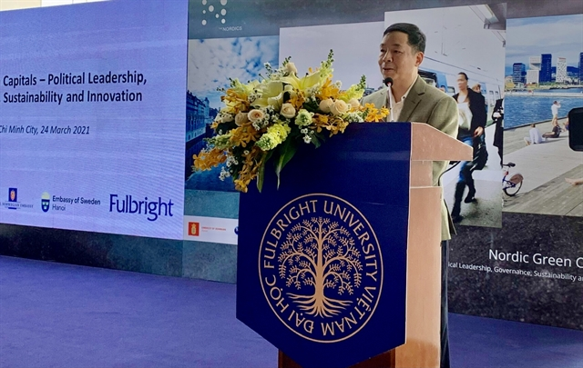 Nordiccountries Việt Nam discussgreensustainable solutions for cities