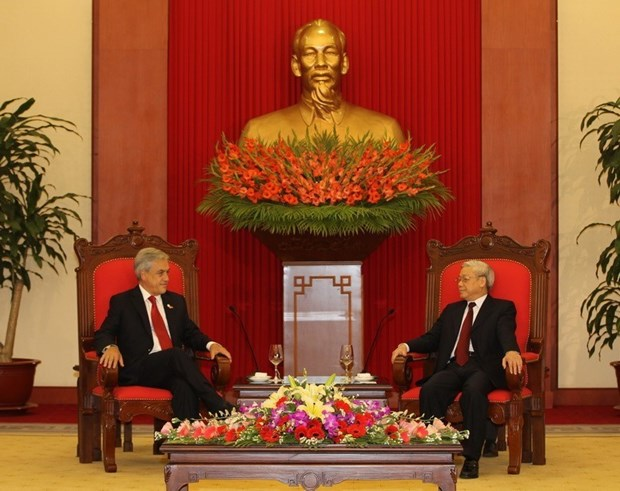 Việt Nam andChile preserve traditional friendship