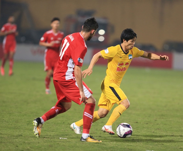 League leaders Hoàng Anh Gia Lai keeping feet on ground