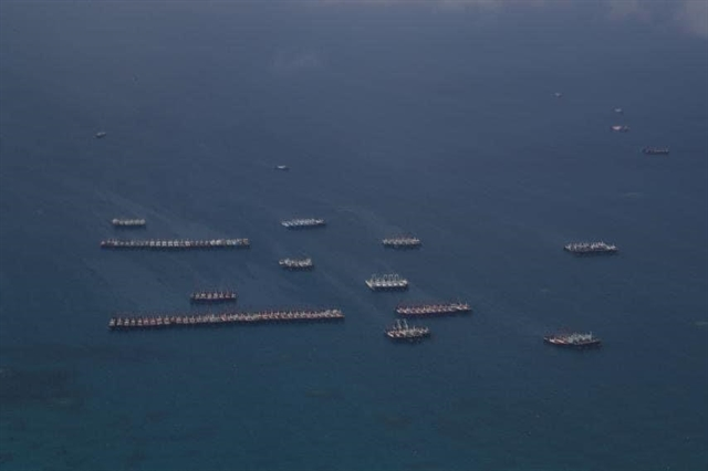 Chinese vessels presence in East Sea reef violates Việt Nams sovereignty: Spokesperson
