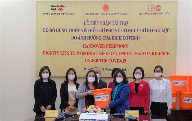 UNFPA provides 2750 dignity kits to support women girls at risk of violence
