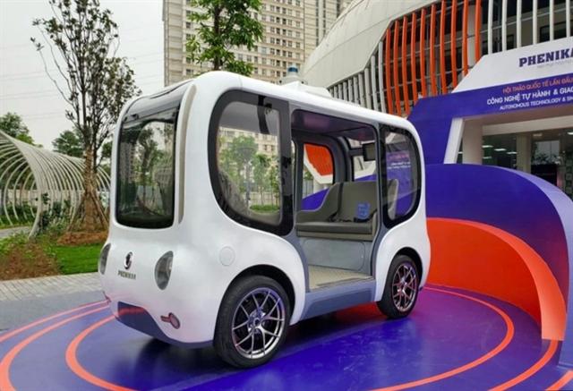 Việt Nams first autonomous vehicle debuts
