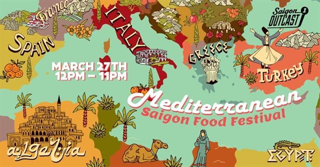 Saigon Outcast to host Mediterranean food fest