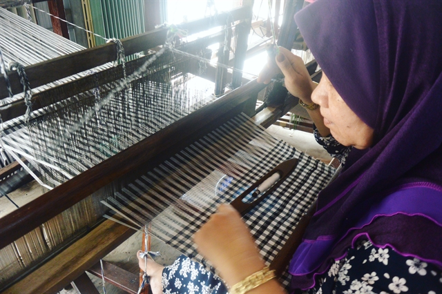 Stories told from threads on a loom