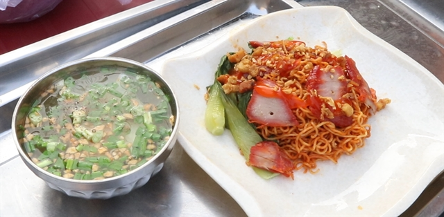 Noodles with chili salt – a hot yet simple dish