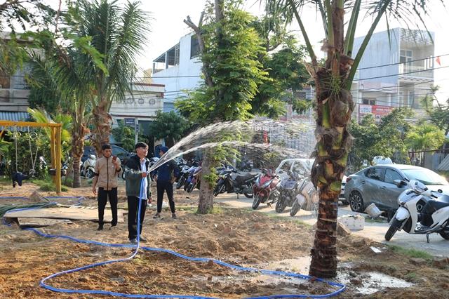 Sơn Trà peninsula begins 'One Million Trees Plantation