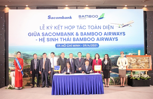 Sacombank, Bamboo Airways in strategic tie-up