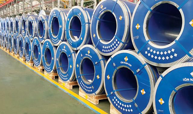 Thép Nam Kim sees steel exports soar