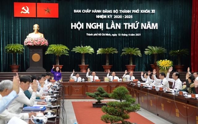 HCM City Party Committee discusses socio-economic development
