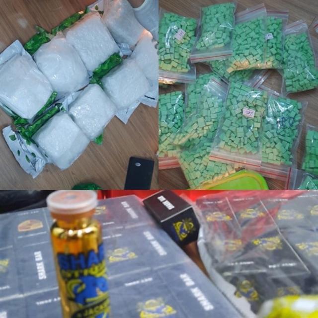 Big drug bust cracked down in HCM City