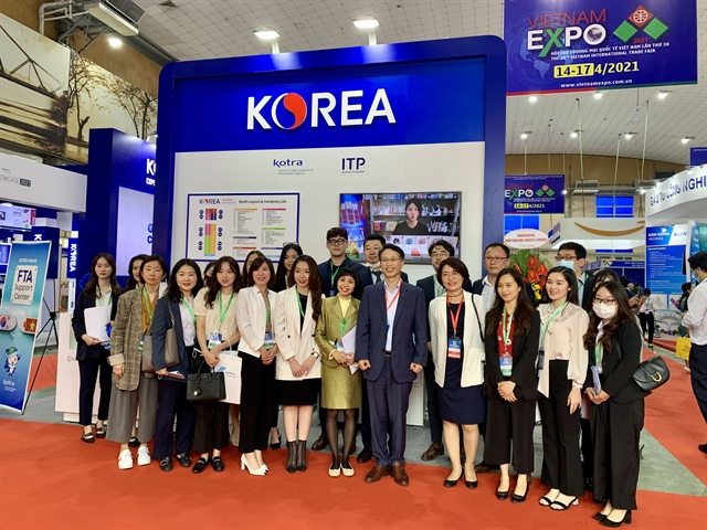 Việt Nam Expo 2021 connects more than 300 firms
