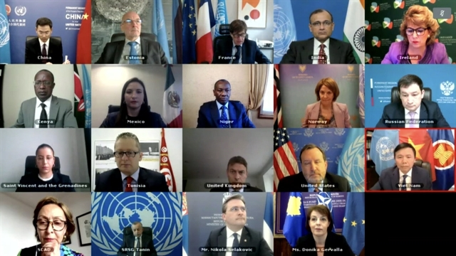 UN Security Council discusses Kosovo missions operation