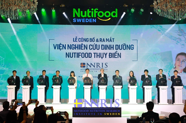 Nutifood launches research institute in Sweden
