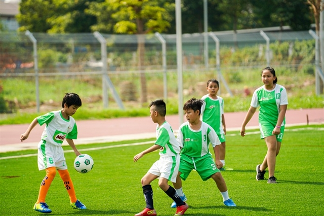 HCM City football tournament for primary school kids kicks off