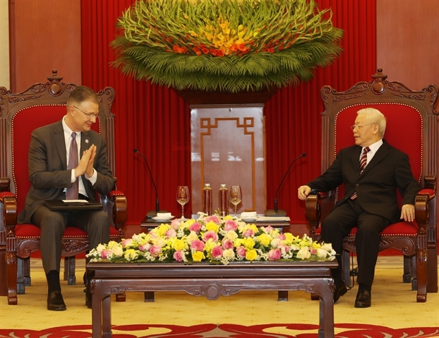 Party leader lauds outgoing US ambassadors contributions to Việt Nam-US ties