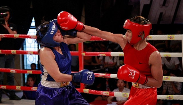 Boxers seek golds at Hà Nộis SEA Games