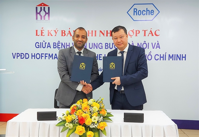 Hanoi Oncology Hospital and Roche Vietnam work together in improving cancer treatment