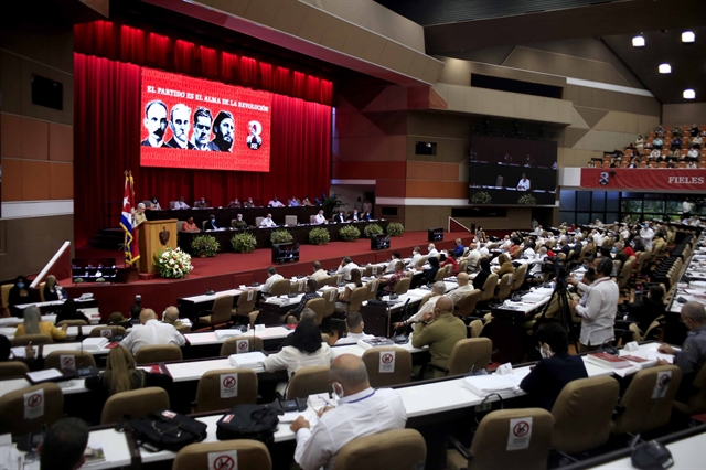 Vietnamese Communist Party sends greetings to 8th National Congress of Communist Party of Cuba