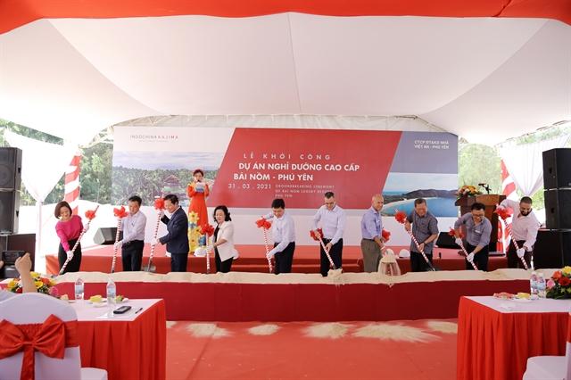Indochina Kajima startsconstruction of new resort