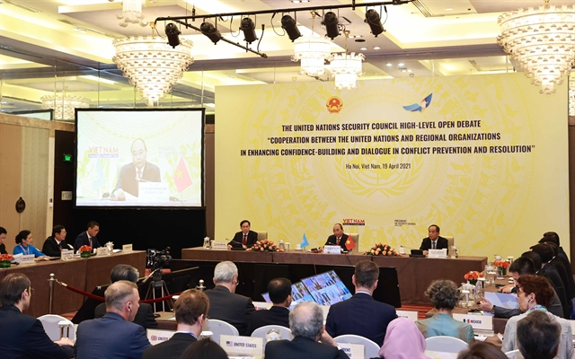 Intl community lauds UNSCs high-level open debate chaired by Việt Nam