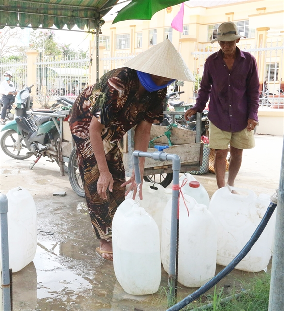 Tiền Giang takes measures to supply water to more households as dry season brings saltwater