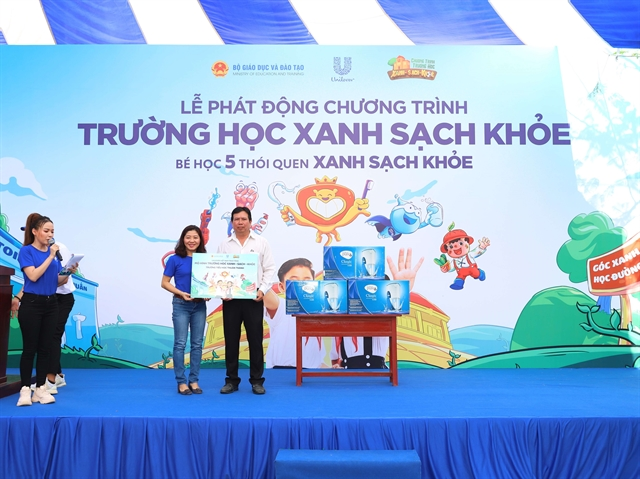 Unilever to fund sanitation upgrades at 1100 schools