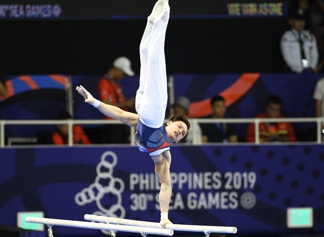 Gymnast Thành qualifies for Tokyo Olympics